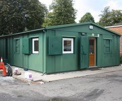Landscape depot office and staff welfare building