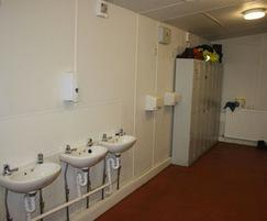 Washroom - landscape depot office and welfare building