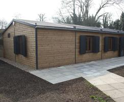 Pavilions For Cowley And Bessingby Bowls Clubs Cleveland
