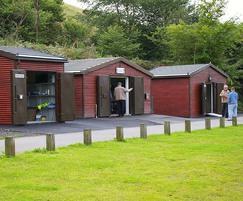 Modular fishing lodges