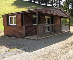 Modular fishing lodge
