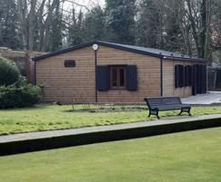 Apex modular buildings - bowls pavilion