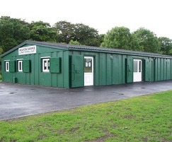 New changing rooms for Heaton Hawks FC