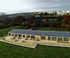 Modular visitor centre for Potteric Carr Nature Reserve