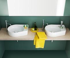 Val bathroom collection basins