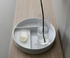 Val bathroom collection storage dish