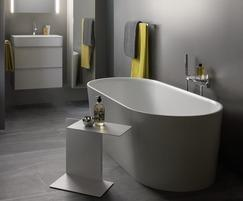 Val bathroom collection basin and bathtub