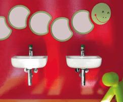 florakids co-ordinated bathroom suite for children