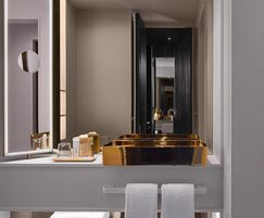 Luxury bathroom for Nobu Hotel, Shoreditch