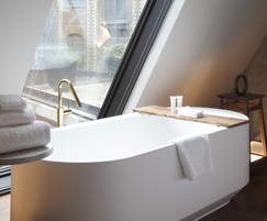 Bespoke curved freestanding bath