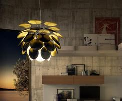 Barbican Brass Pendant Light Jim Lawrence Traditional