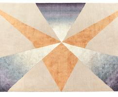 PINNACLE bespoke hand knotted wool and silk rug