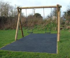 Junior park swings