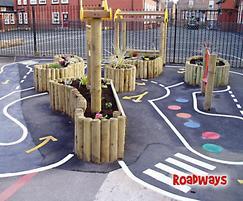 Playground roadways
