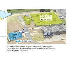 Overview of the Iver plant, London - Heathrow