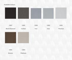 Screen Nature Ultimetal solar control textile colours