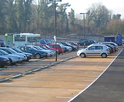 NatraTex bound surfacing, Winchester Park & Ride