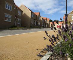 Sheffield homes use NatraTex Cotswold for footpath