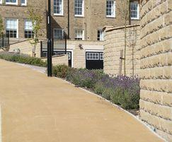Bellway Homes using NatraTex Cotswold bound surfacing