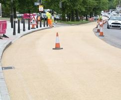 Designed to withstand constant traffic flow