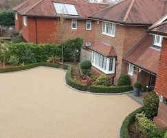 GeoPave EzFloat surfacing - residential driveway