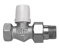 DR lockshield radiator control valve