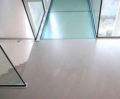 PU Floor Green Line