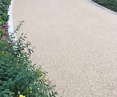 Addaset resin bound surfacing for Concord College