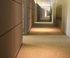 Addatex Stone Carpet bound resin flooring