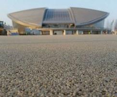 15,000sqm of Addaset installed at Baku Aquatics Centre