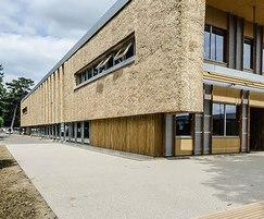 Addabound surfacing at University of East Anglia