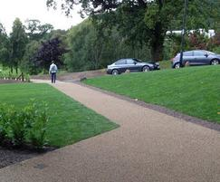 Path resurfaced with Addastone in Britanny Bronze
