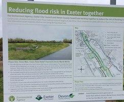 Exeter flood defence project – double locks