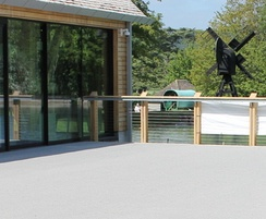 Resin bound surfacing at visitor centre