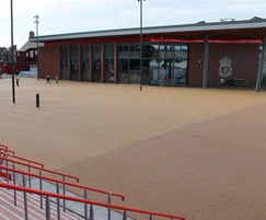 BBA approved resin bound surfacing - Liverpool FC