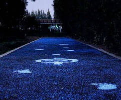 STARPATH light-emitting paving - blue finish