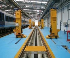 Addaflor resin flooring used in MOD training facility