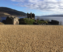 Addastone surfacing - Urquhart Castle