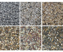 Stonebound resin bound surfacing samples