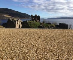Addastone surfacing - Urquhart Castle, Loch Ness