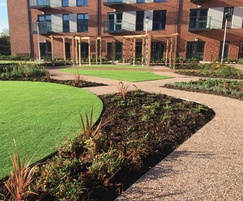Terrabase Rustic surfacing, Extra Care Facility