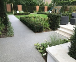 Terrabase Classic surfacing - private garden, London