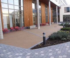 Addaset surfacing, QEII Hospital, Welwyn Garden City