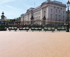 Terrabound surfacing, Constitution Hill, London