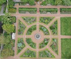 Bound surface revitalises physic garden pathways