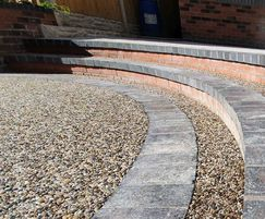 Terrabase is a minimum-dig resin-bound surfacing