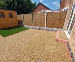 Terrabase Rustic replaced the existing soil surface