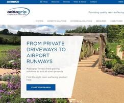 Addagrip Terraco: New Addagrip web site launched
