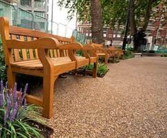 No-dig resin-bound pathways - Christchurch Gardens