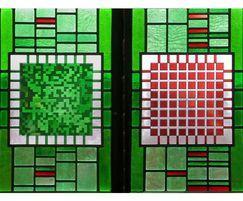 Stained glass window, Southampton University
